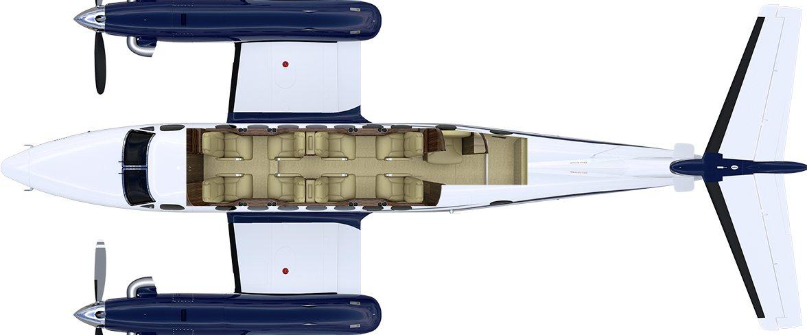 kingair-350i-interior