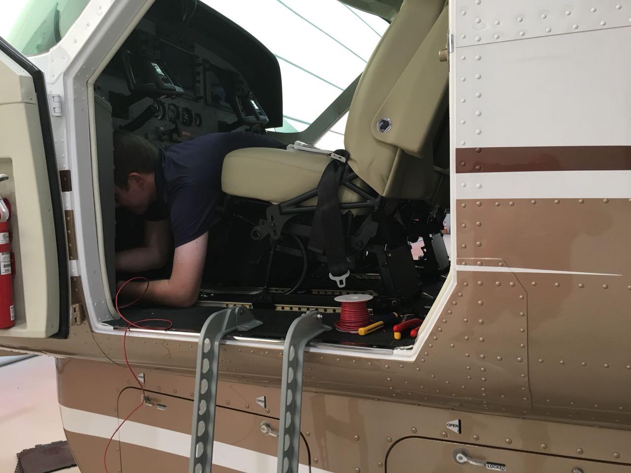 First Leg - Citation Caravan EX Ferry 1