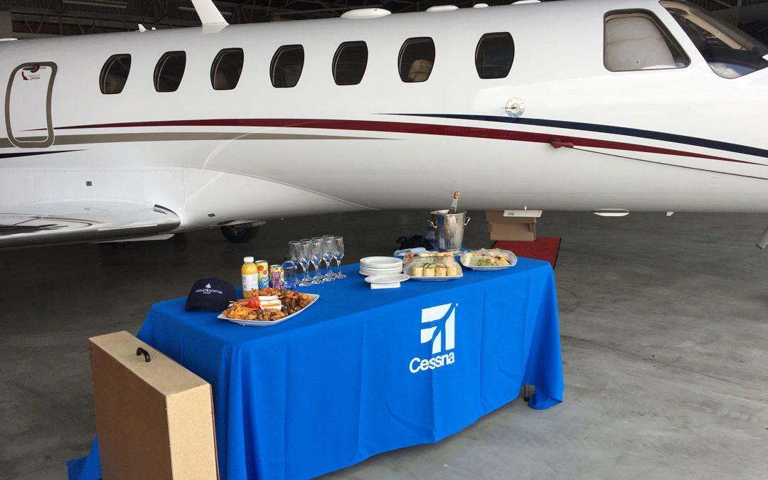 2008 Cessna Citation CJ3 en route to her new owner