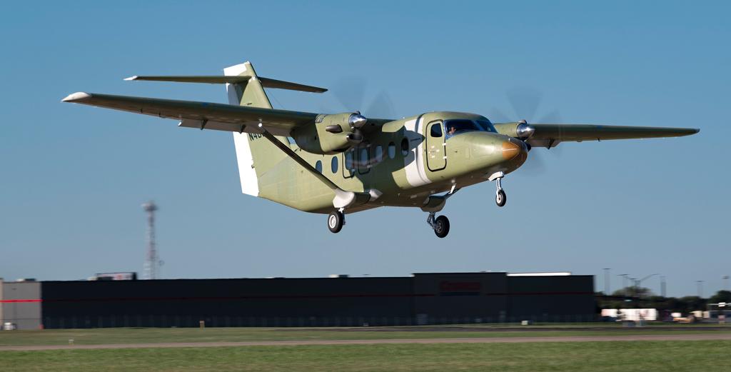 Third Cessna SkyCourier test aircraft joins flight test program