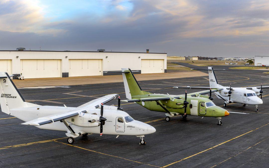 Momentum builds for Cessna SkyCourier program as certification flight test begins
